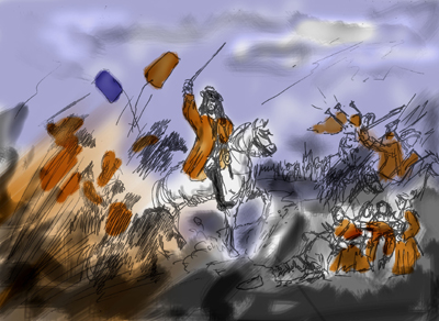 William of Orange was victorious at the Battle of the Boyne